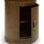 Flexsteel Round Trunk Chest